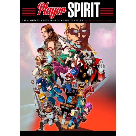 Player Spirit n°1 - Couverture Consoles