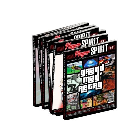 Player Spirit n°1 - Couverture Consoles
